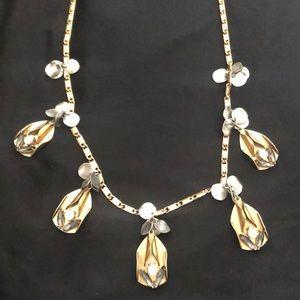 J. Crew Art Deco style necklace